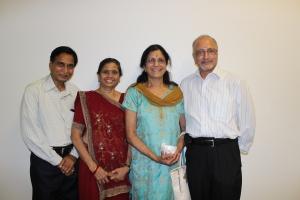 Dr. Chandravadan Mistri and Kamuben